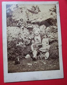 Theofil Ackermann s rodinou