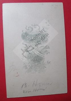 B. Honsa, Viléma Honsová