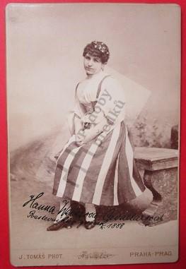 Hana (Hanna, Johana) Weissová Cavallarová