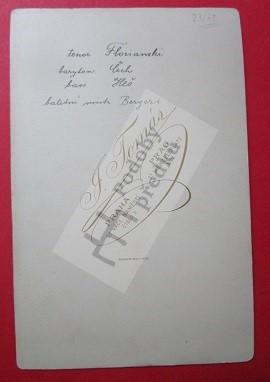Vladislav Florjanský, Bohumil Benoni, Vilém Heš, Augustin Berger