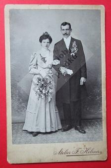 August Smékal s chotí