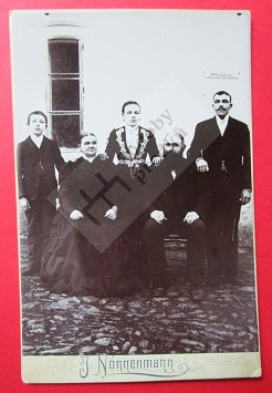 Václav Borový s rodinou