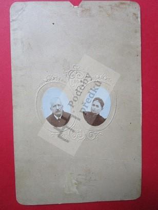 Karel Ježek a manželka Eliška (3x)