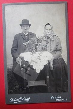 Jan Bubela a manželka Františka