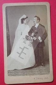 Václav Stránský a manželka Šarlota