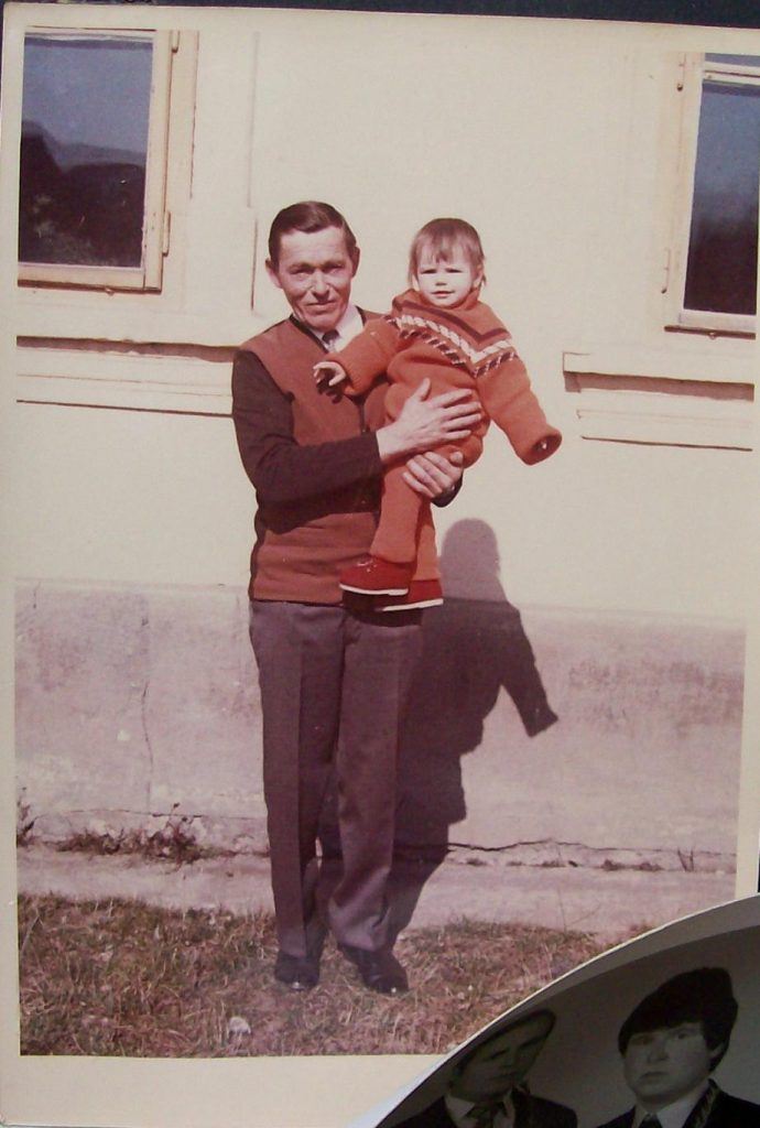 My grandfather in color, authentically